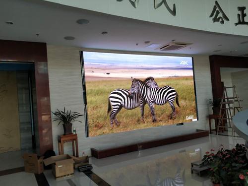 连江县公安局室内小间距2.5全彩