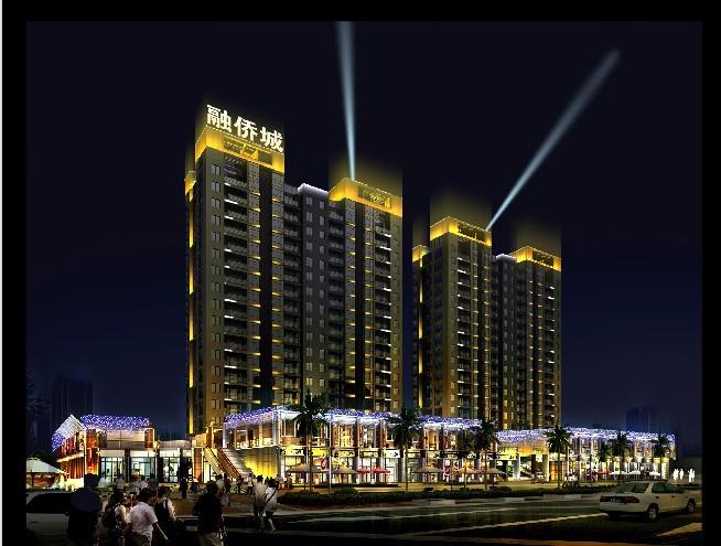 福清市融侨城夜景灯光工程