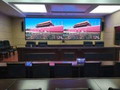 连江县公安局会议室P2.0全彩显示屏