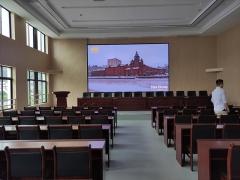 高速西实验楼室内2.5全彩显示屏