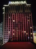 连江世纪鸿腾大饭店夜景